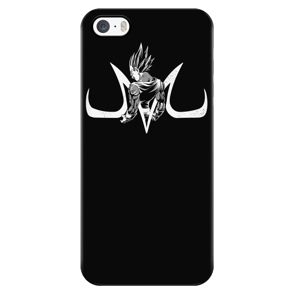 Super Saiyan Majin Vegeta iPhone 5, 5s, 6, 6s, 6 plus, 6s plus phone case - TL00214PC-BLACK