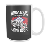Super Saiyan ARKANSAS Grown Saiyan Roots 15oz Coffee Mug - TL00167M5