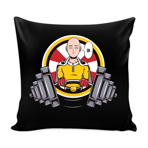 "One Punch Saitama OK Pillow Cover 16"" - TL00454PL"
