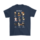 Harry Potter- HAIRY PAWTTER -Men Short Sleeve T Shirt - TL01679SS