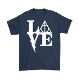 Harry Potter- LOVE -Men Short Sleeve T Shirt - TL01388SS