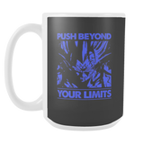 Super Saiyan Majin Vegeta push limits 15oz Coffee Mug - TL00225M5