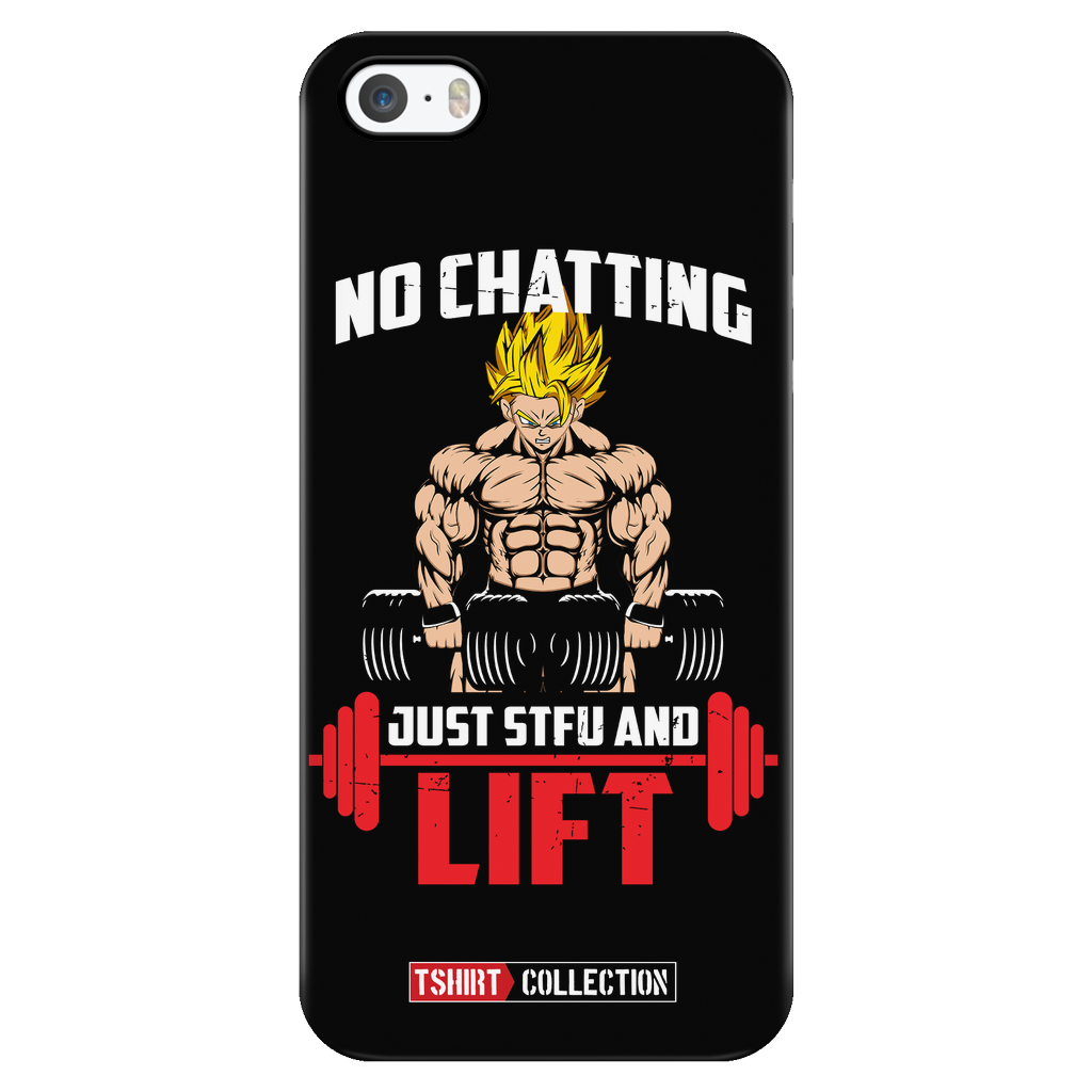 Super Saiyan Goku Gym Lift Up Iphone Case - TL00462PC