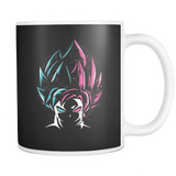 Super Saiyan - Super Saiyan Blue vs Super Saiyan Rose - Mug 11oz - TL00829M1