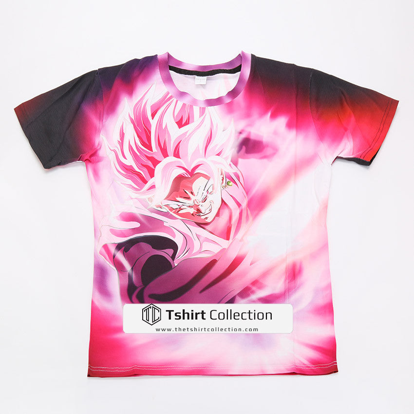 13dd4c2224e Super Saiyan - Goku Pink - All Over Print T Shirt - TL01476AO – TC ...