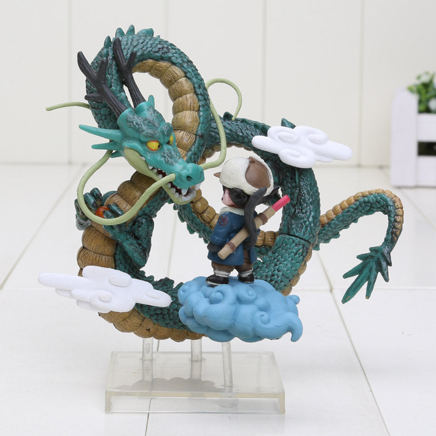 Anime Dragon Ball Z Goku games Museum Collection Shenron Son Goku Action Figure model Toy