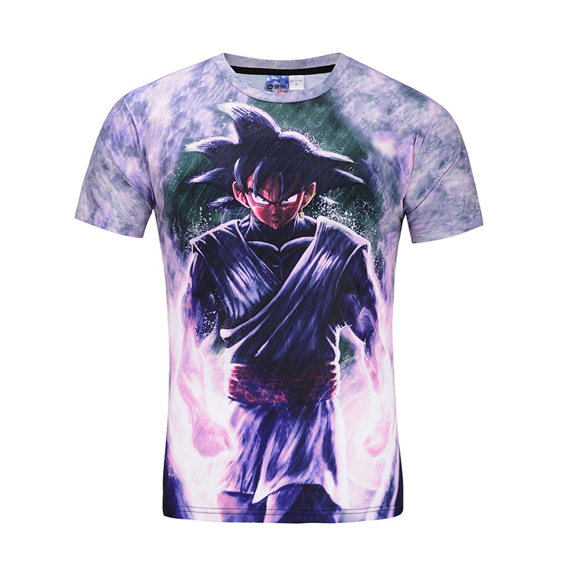 7afa0802364 Super Saiyan - Goku Black - All Over Print T Shirt - TL0148AO – TC ...