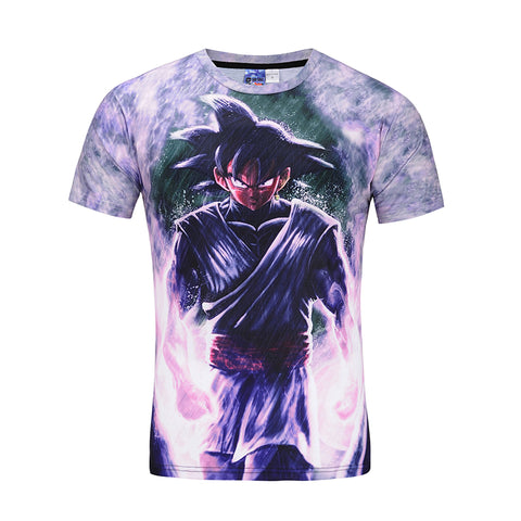 Super Saiyan - Goku Black - All Over Print T Shirt - TL0148AO