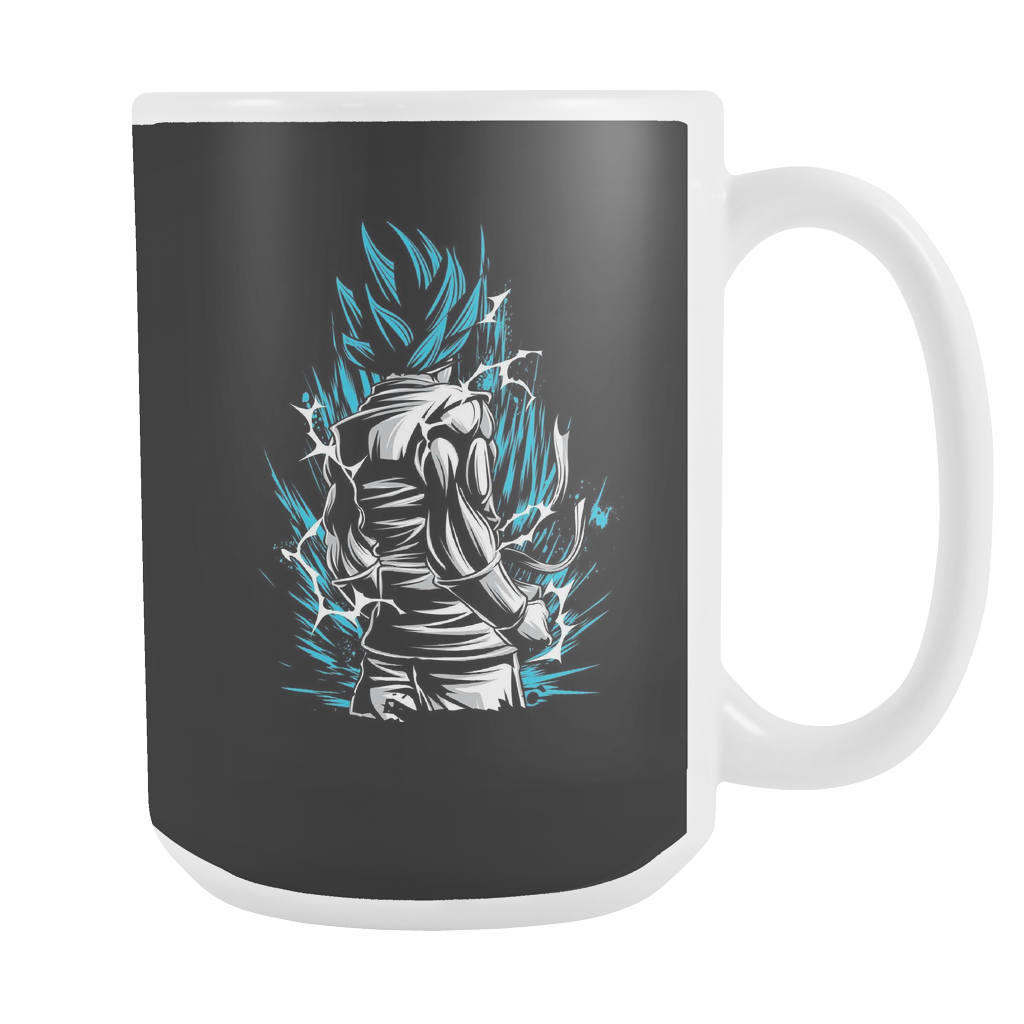 Super Saiyan God Blue Goku 15oz Coffee Mug - TL00020M5