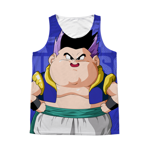 Super Saiyan - Gotenks Six-Pack Coming Soon - 1 Sided 3D tank top t shirt Tank - TL00940AT