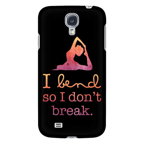Yoga - I bend so i dont break - Android Phone Case - TL00890AD