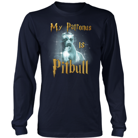 Pitbull Collection- Pit Bull,My Patronus - Unisex Long Sleeve - TL01689LS