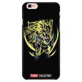 Super Saiyan Goku iPhone 5, 5s, 6, 6s, 6 plus, 6s plus phone case - TL00445PC-BLACK