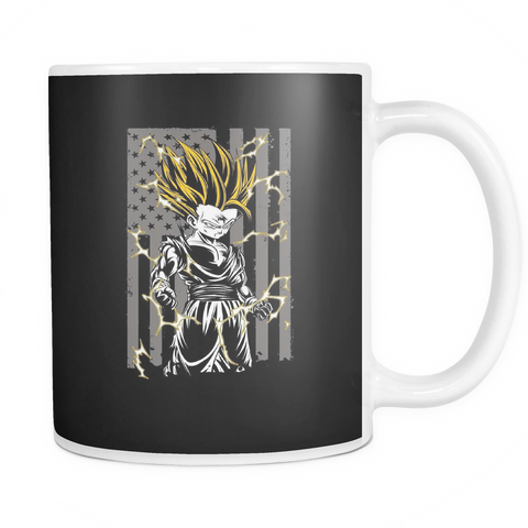 American Super Saiyan Gohan 11oz Coffee Mug - TL00003M1 - The TShirt Collection