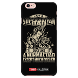 Super Saiyan Vegeta and Trunks Dad iPhone 5, 5s, 6, 6s, 6 plus, 6s plus phone case - TL00460PC-BLACK
