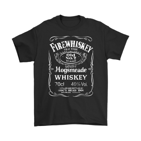 Harry Potter- Firewhiskey old time old no.7 brand -Men Short Sleeve T Shirt - TL01695SS