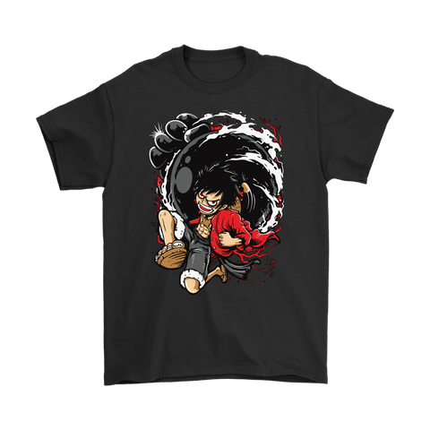 One Piece - Monkey D Luffy 2 -Men Short Sleeve T Shirt - TL01622SS - 5XL