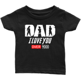 Super Saiyan Goku Vegeta Gohan Dad I Love You Over 9000 - TL01707IS