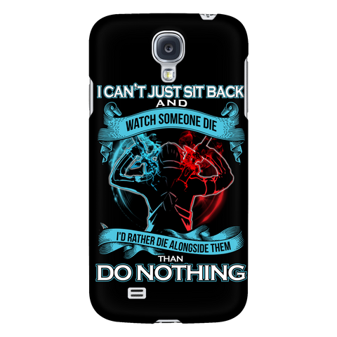 SAO Sword Art Online - I can't just sit back and wath some die - Android Phone Case - TL01188AD