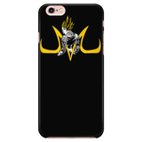 Super Saiyan Majin Vegeta iPhone 5, 5s, 6, 6s, 6 plus, 6s plus phone case - TL00215PC-BLACK