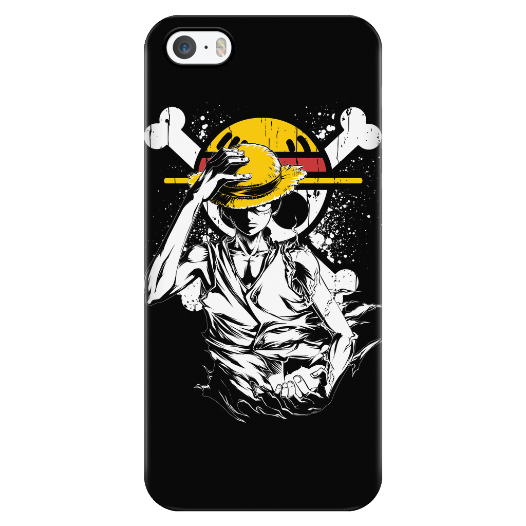 brand new 7f7e5 3b703 One Piece - Straw Hat Pirate Luffy - Iphone Phone Case - TL00913PC