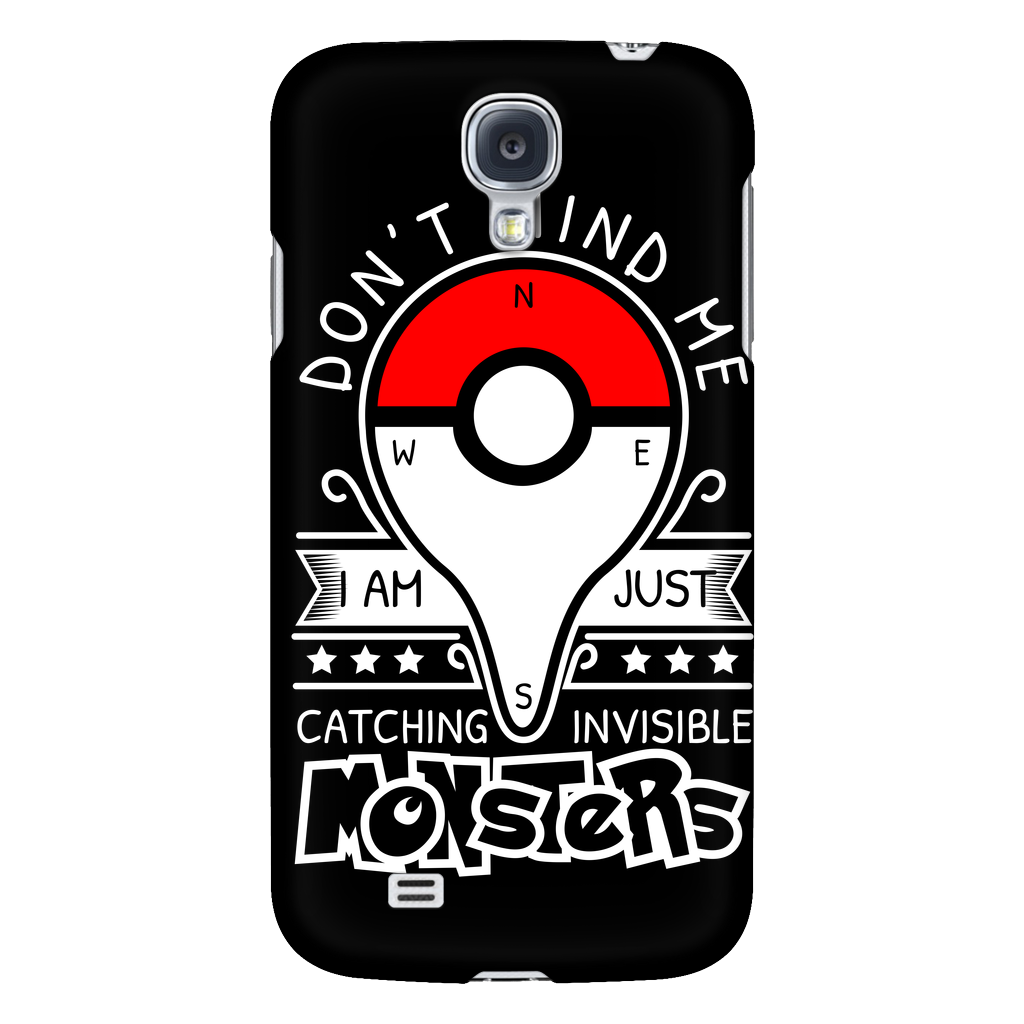 competitive price f15bd 2c32e Pokemon dont mind me I am just here catching invisible monster Android  Phone Case - TL00625AD