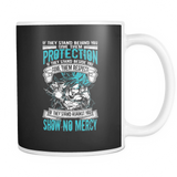 Super Saiyan Blue Goku God No Mercy 11oz Coffee Mug - TL00017M1