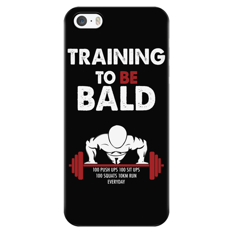 One Punch Man - Saitama Training to be bald - Iphone Phone Case - TL00917PC