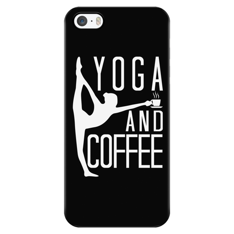 Yoga - Yoga And Coffee - Iphone Phone Case - TL00891PC