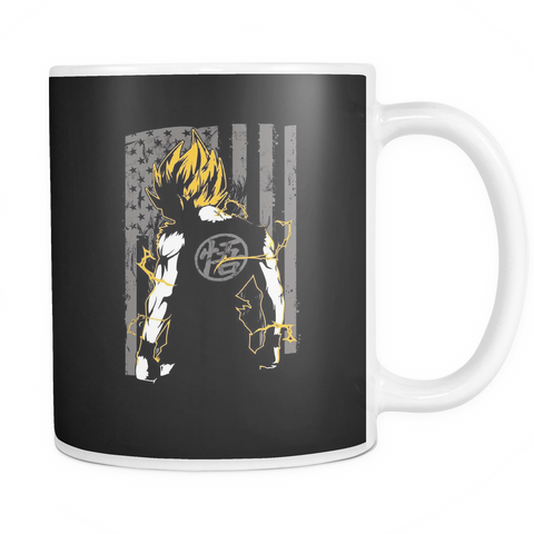 American Super Saiyan Goku 11oz Coffee Mug - TL00046M1 - The TShirt Collection