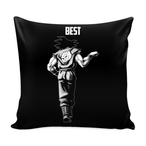 "Super Saiyan Goku Best Friend For Life Pillow Cover 16"" - TL00562PL"