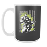 American Super Saiyan Broly 15oz Coffee Mug - TL00001M5 - The TShirt Collection