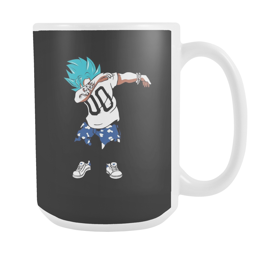 Super Saiyan Goku God Dab Girl 15oz Coffee Mug - TL00467M5