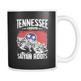 Super Saiyan Tennessee Grown Saiyan Roots 11z Coffee Mug - TL00148M1