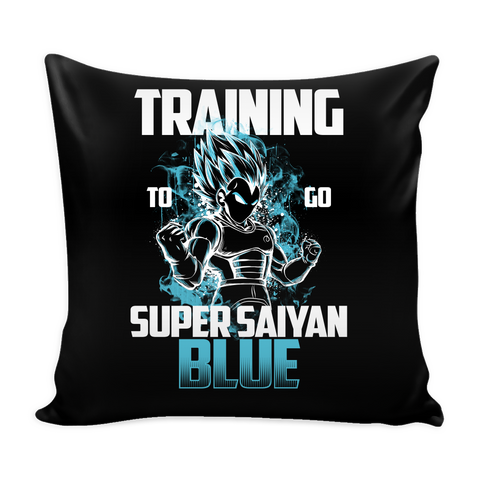 "Super Saiyan - Vegeta God Blue protect family - Pillow Cover 16"" - TL00886PL"