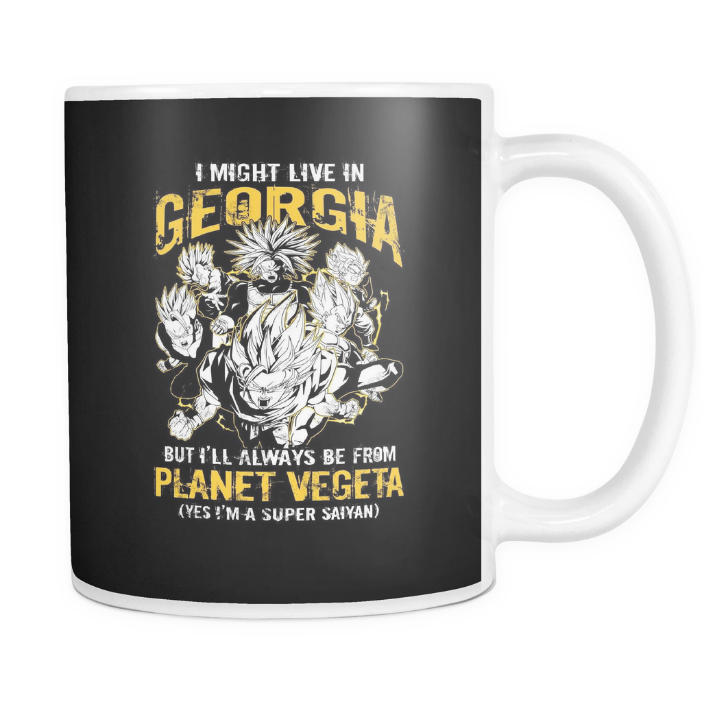 Super Saiyan Georgia 11oz Coffee Mug - TL00073M1