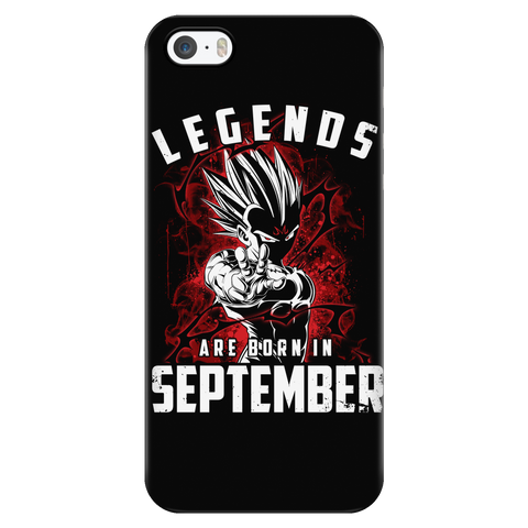 Super Saiyan - Lengends all born in september - Iphone Phone Case - TL01031PC
