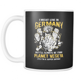 Super Saiyan I May Live In Germany 11oz Coffee Mug - TL00113M1