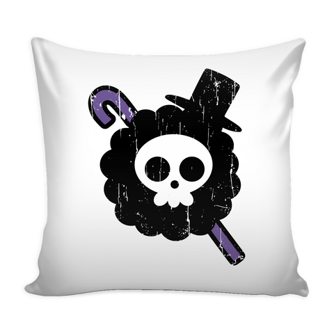 One Piece - Brook symbol - Pillow Cover - TL00902PC