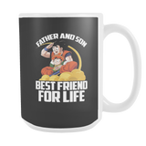 Super Saiyan Goku and Gohan Father and Son Day15oz Coffee Mug - TL00477M5