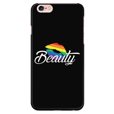 Matching Couples T-shirt ,Beauty Gay Lesbian LGBT Shirt - Iphone Phone Case - TL01266PC