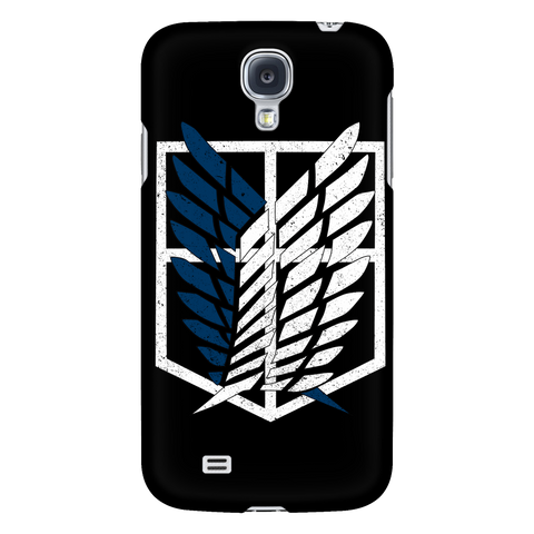 Attack on titan - survey corps logo - Android Phone Case - TL01192AD