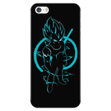 Super Saiyan Vegeta God iPhone 5, 5s, 6, 6s, 6 plus, 6s plus phone case - TL00205PC-BLACK