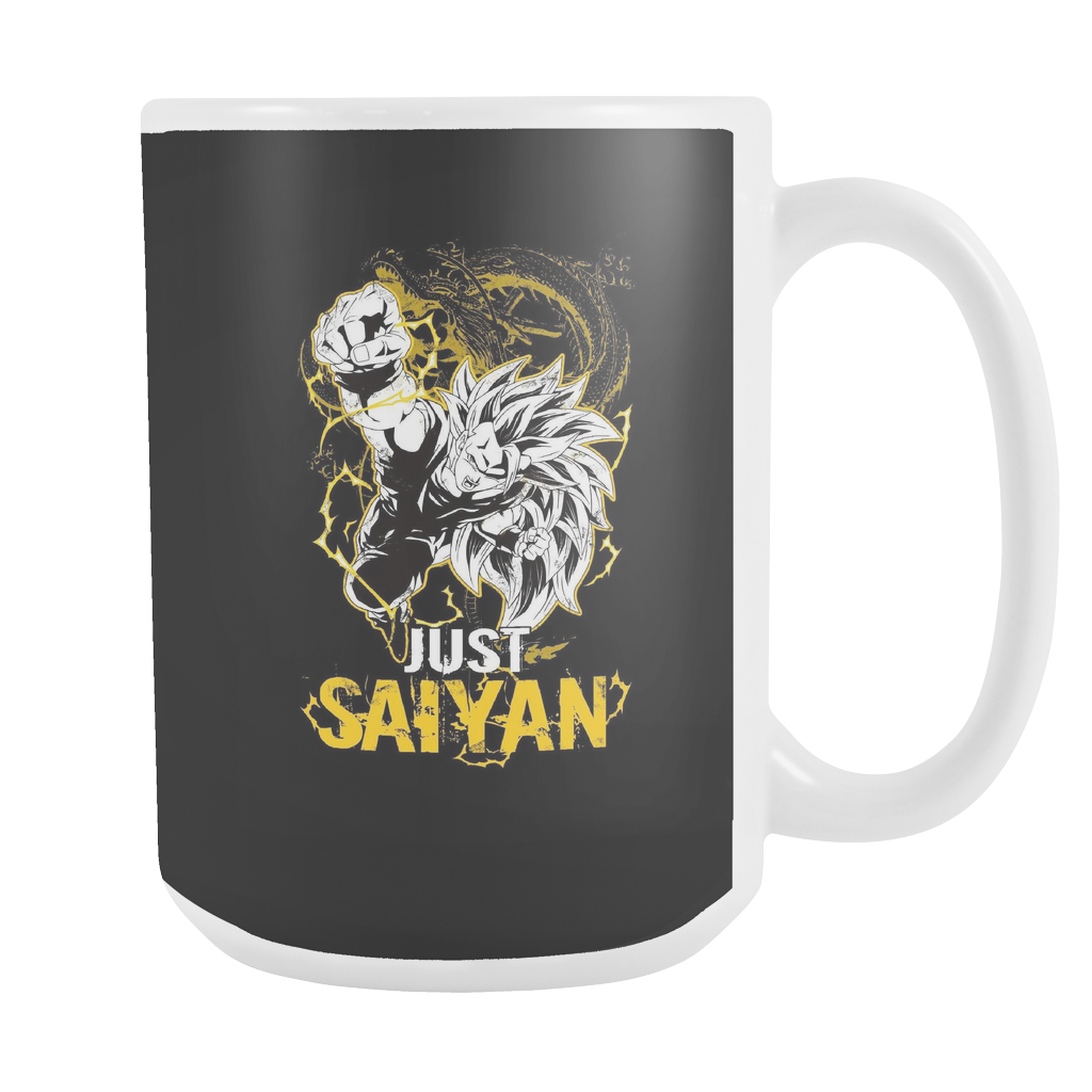 Super Saiyan Goku Dragon Fist 15oz Coffee Mug - TL00035M5