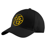 Super Saiyan Goku Golden Symbol Structured Twill Cap - PF00180TC - The Tshirt Collection - 1