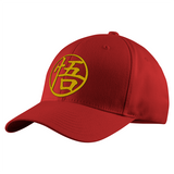 Super Saiyan Goku Golden Symbol Structured Twill Cap - PF00180TC - The Tshirt Collection - 7