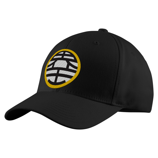 Super Saiyan Goku King Kai Symbol Structured Twill Cap - PF00181TC - The Tshirt Collection - 1