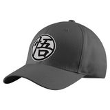 Super Saiyan Goku Symbol Black and White Structured Twill Cap - PF00182TC - The Tshirt Collection - 2