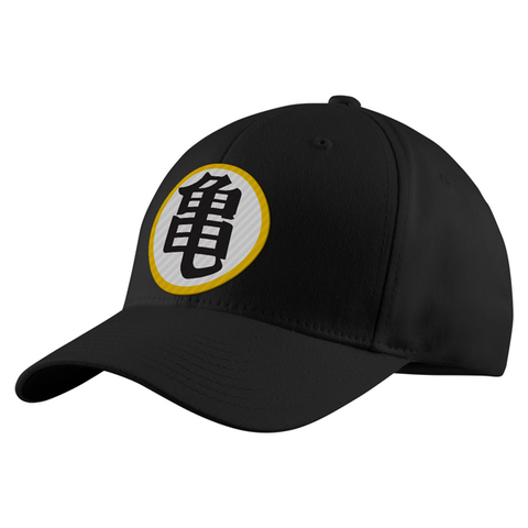 Super Saiyan Kame Symbol Structured Twill Cap - PF00185TC - The Tshirt Collection - 1