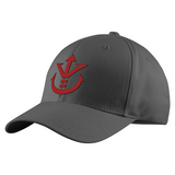 Super Saiyan Red Vegeta Crest Structured Twill Cap - PF00188TC - The Tshirt Collection - 2